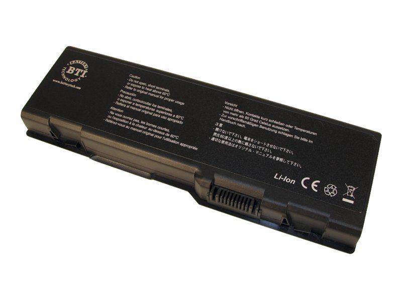 BTI Battery, for Select Dell Inspiron Notebooks, DL-6000, 7475181, Batteries - Notebook