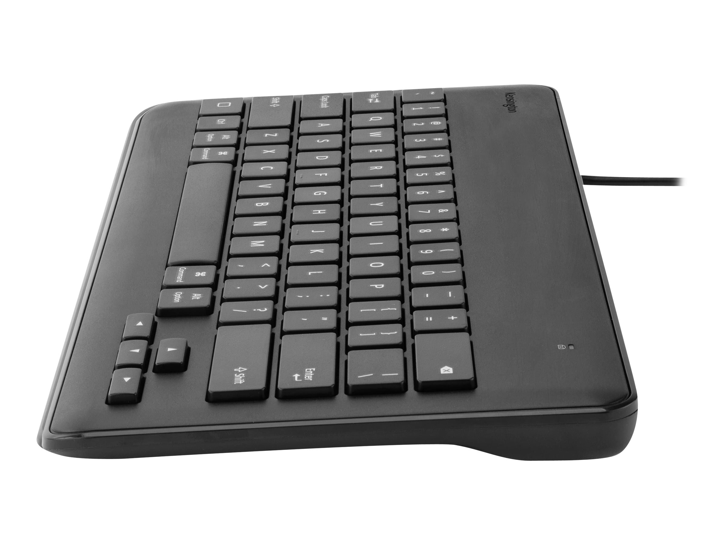 Kensington Wired Keyboard for iPad w  Lightning Connector, Black, K72447WW