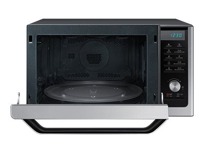 Samsung 1.1 cu. ft Counter Top Convection Microwave with Slim Fry, Stainless Steel, MC11H6033CT/AA