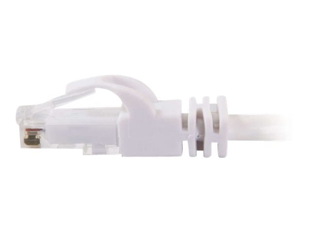 C2G Cat6 Snagless Unshielded (UTP) Network Patch Cable - White, 8ft, 04037