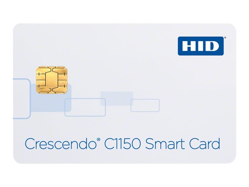 Synercard C1150 Crescendo Non-programmable Access Card Contact PKI Chip (Min. Order 25), 4011500, 26830889, Security Hardware