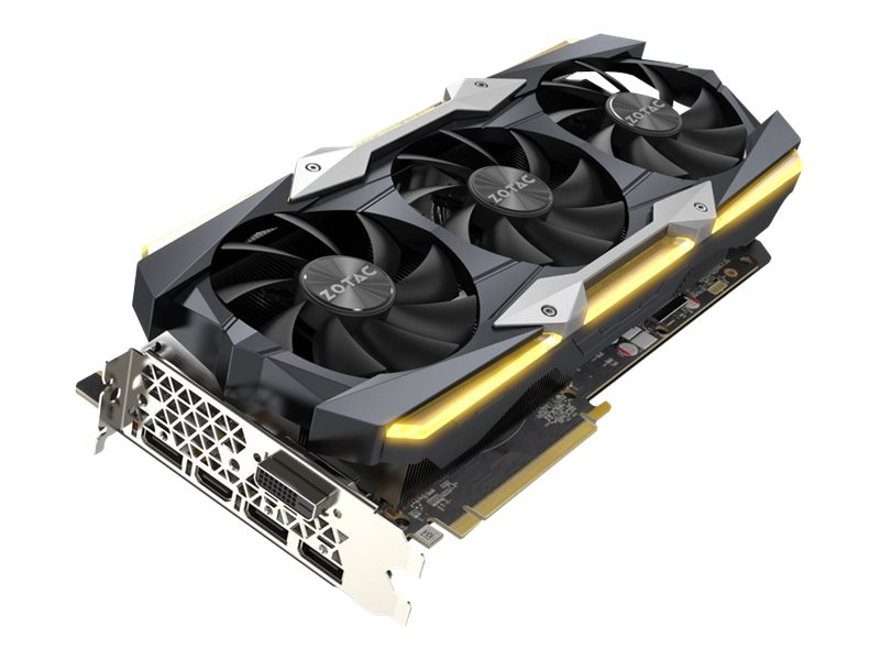 Zotac GeForce GTX 1080 Ti AMP Extreme Core Edition Graphics Card, 11GB GDDR5X