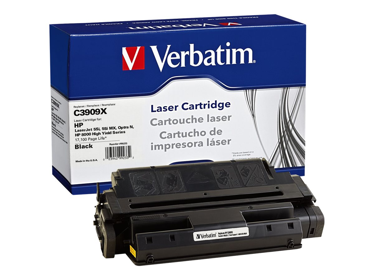 Verbatim C3909X Remanufacured Toner Cartridge, 99233