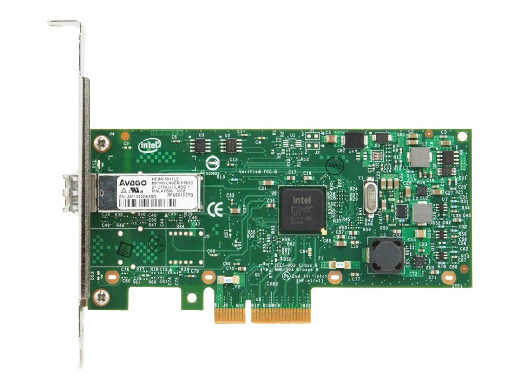 Lenovo Intel I350-F1 1xGbE Fiber Adapter for System x, 00AG500, 17939954, Network Adapters & NICs