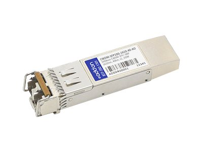 ACP-EP SFP+ 40KM CWDM 1610 LC Cisco Compatible Transceiver, CWDM-SFP10G-161040AO, 26687672, Network Transceivers