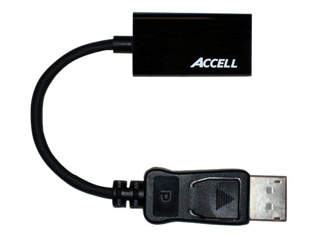 Accell UltraAV DisplayPort 1.1 to HDMI 1.4 Passive Adapter, B086B-004B-2, 16182945, Adapters & Port Converters