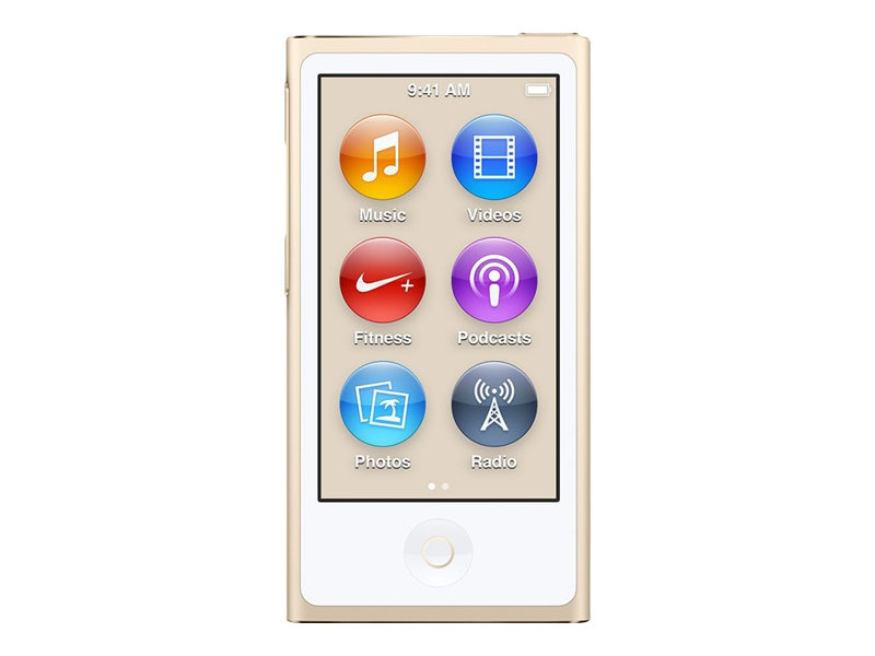 Apple 16GB iPod nano - Gold, MKMX2LL/A, 25875022, DMP - iPod Nano