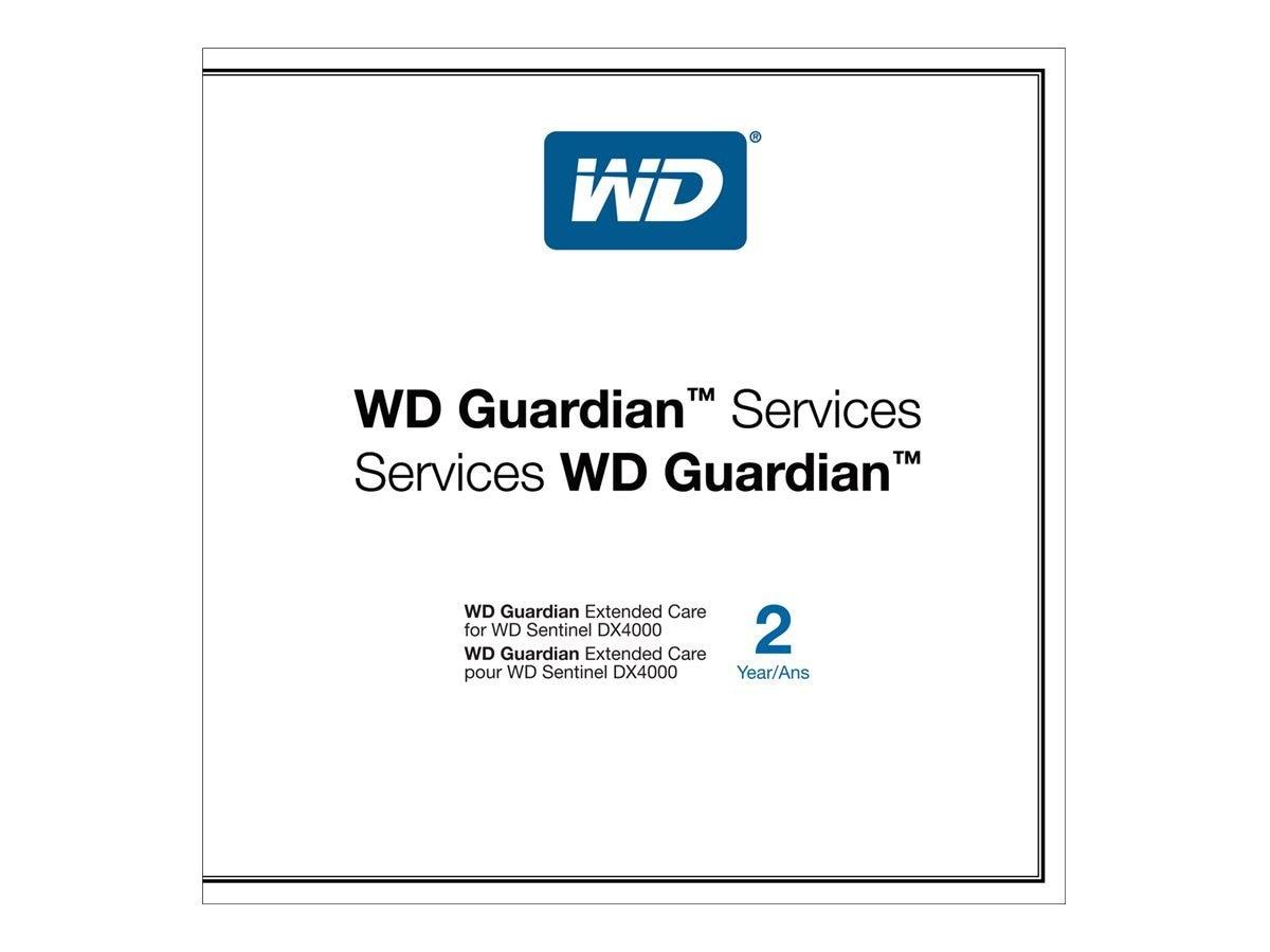 WD Guardian Extended Care, WDBVMS0000NNC-NASN