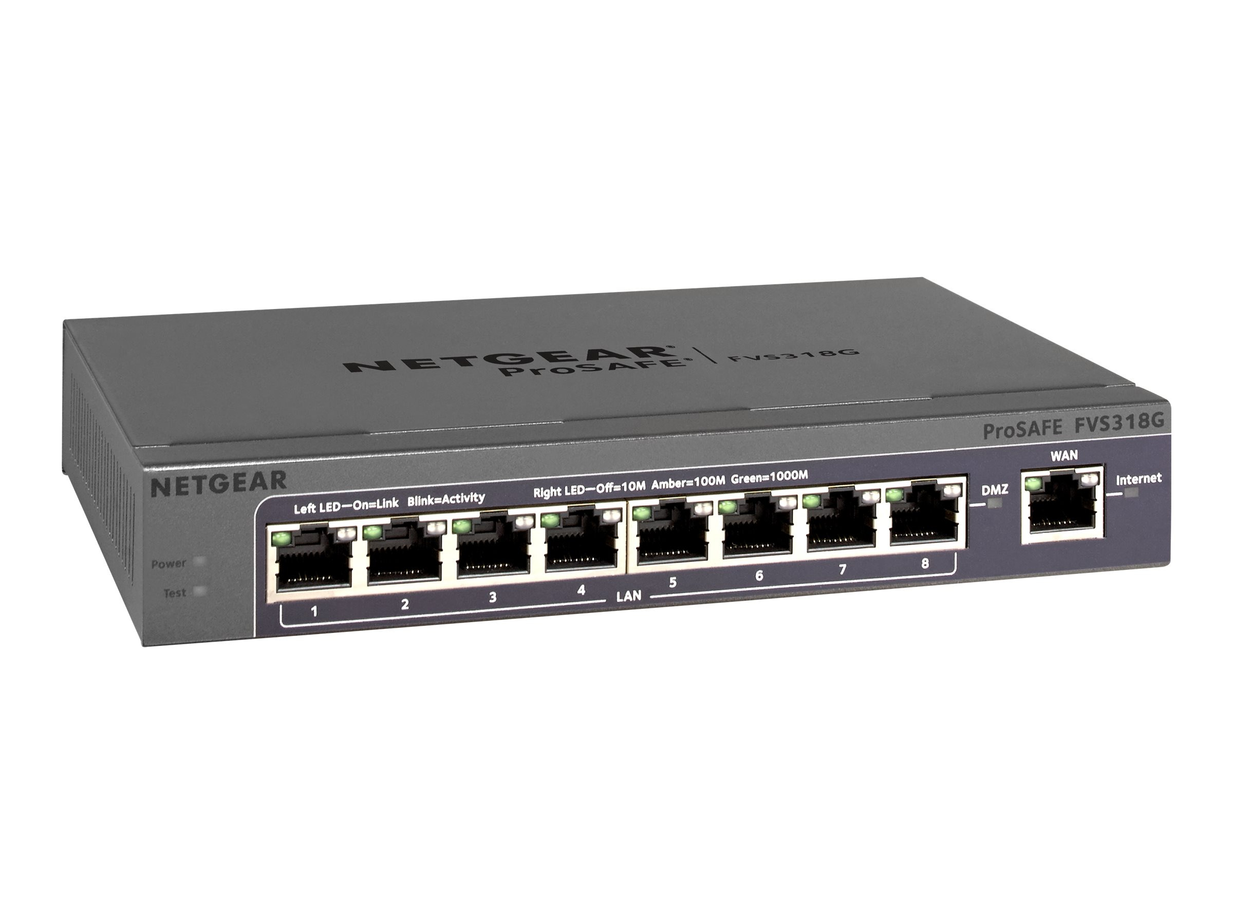 Netgear ProSafe 8-port Gigabit VPN Firewall, FVS318G-200NAS, 18362860, Network Firewall/VPN - Hardware