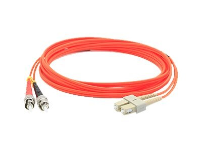 ACP-EP Fiber Patch Cable, ST-SC, 62.5 125, Duplex, Multimode, 3m, ADD-ST-SC-3M6MMF