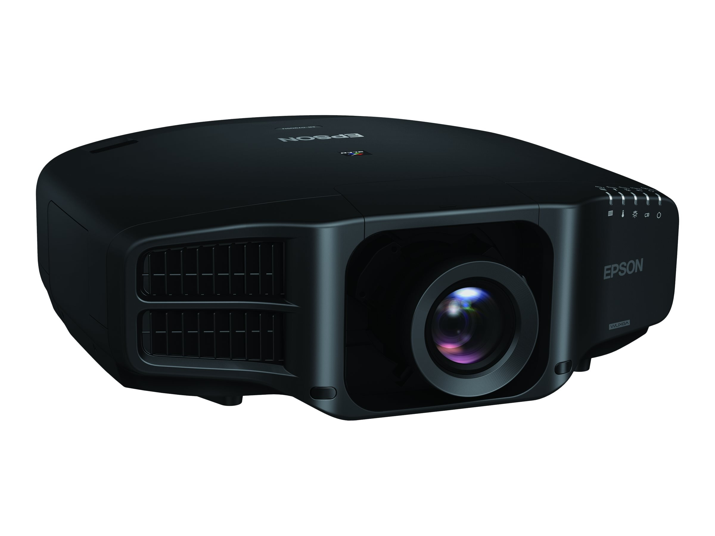 Epson Pro G7905U WUXGA 3LCD Projector with Standard Lens, 7000 Lumens, Black, V11H749120