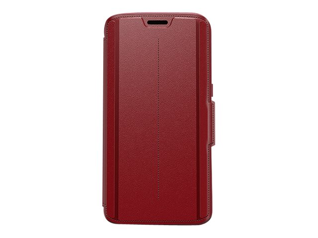 OtterBox Strada Case for Samsung Galaxy S7 Edge, Ruby Romance Red