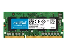 Crucial 4GB PC3-12800 204-pin DDR3 SDRAM SODIMM, CT51264BF160BJ, 16232527, Memory