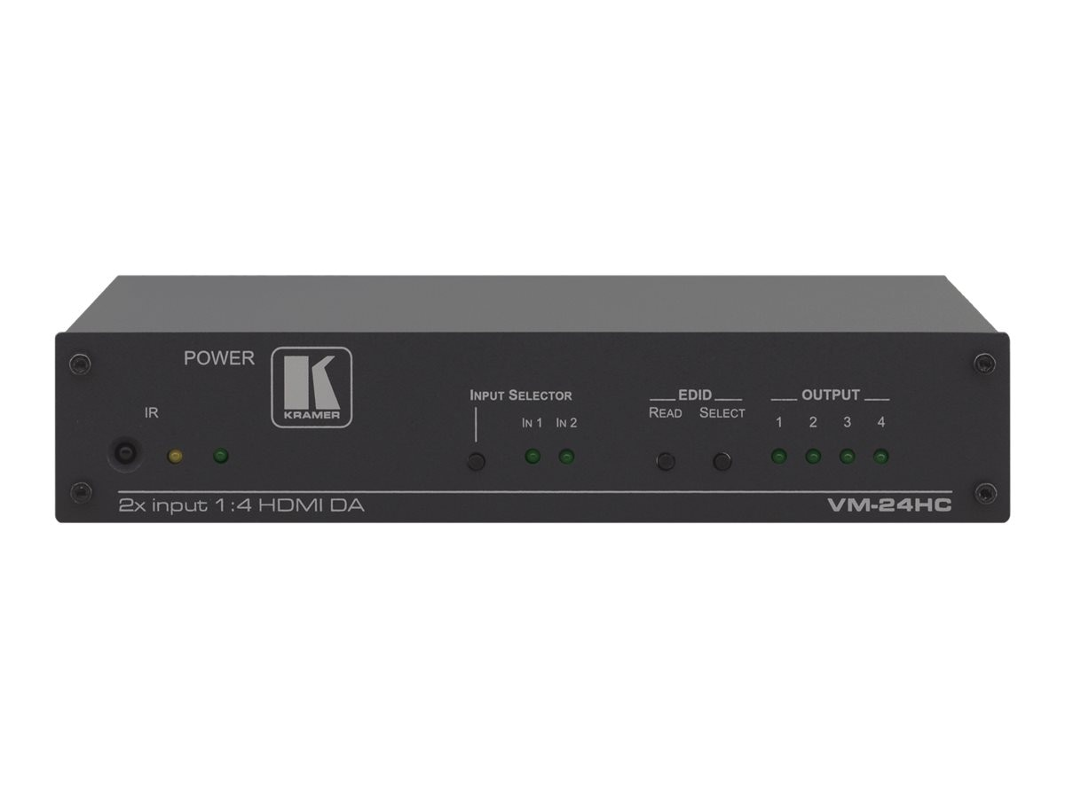 Kramer 2x1:4 HDMI Switcher Amplifier, VM-24HC