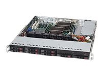 Supermicro Chassis, SuperChassis 113MFAC2 1U RM ATX (2x)Intel AMD Family 8x2.5 HS Bays 2x600W