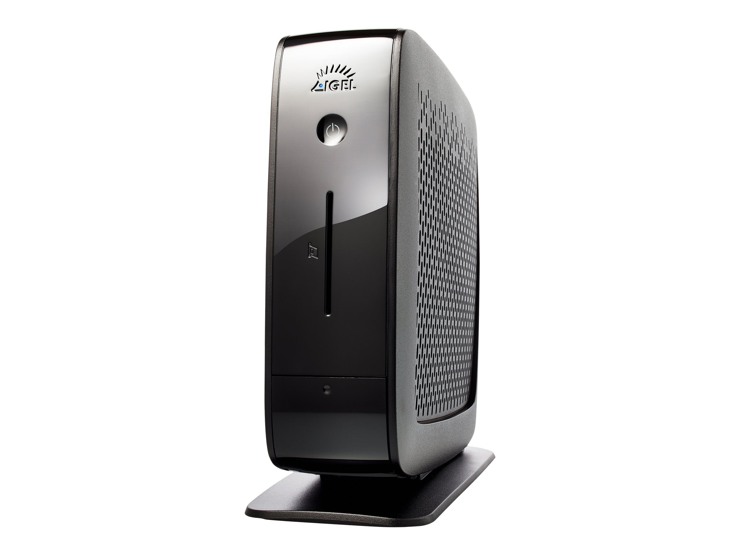 IGEL UD5 Universal Desktop Thin Client Celeron 847 1.1GHz 2GB RAM 4GB Flash GbE WES7, Black