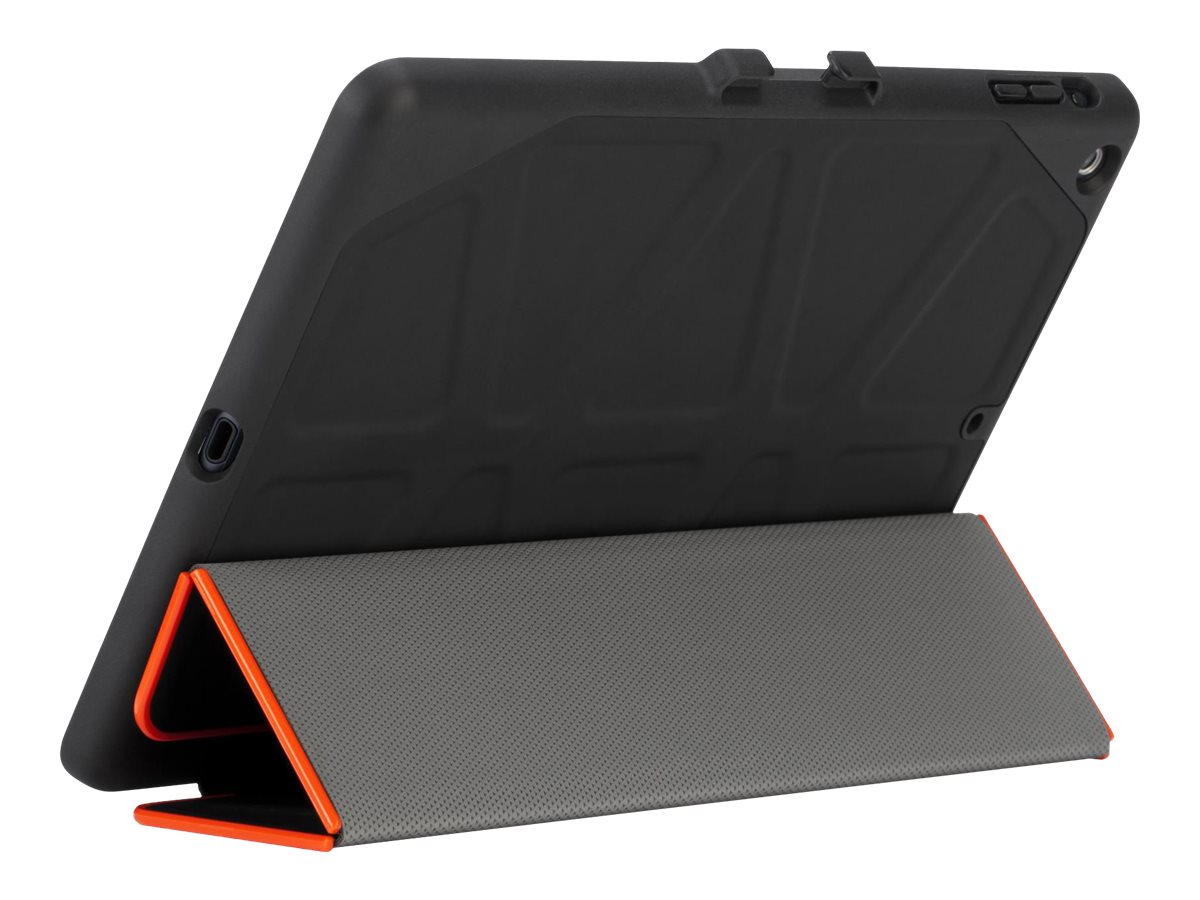 Targus 3D Protection for iPad Air 2, Black Red Edge, THZ522US