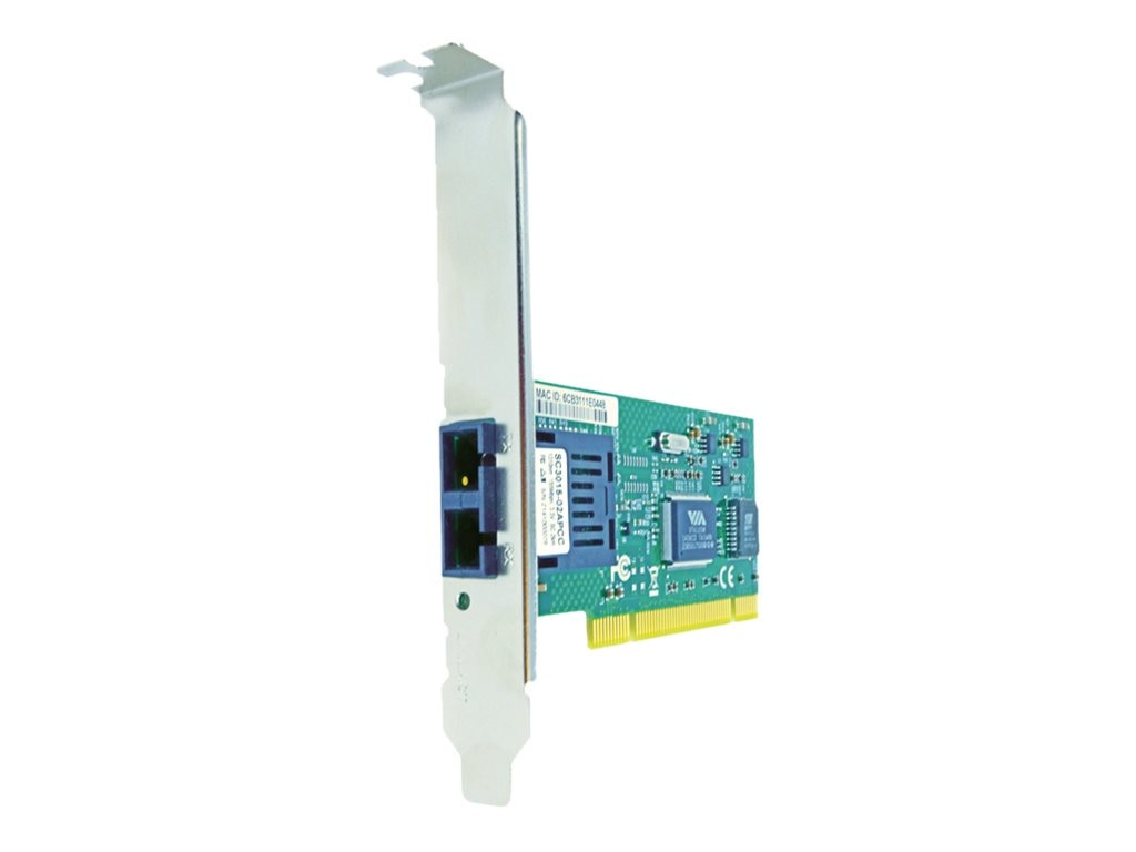Axiom 1-Port 100Mbs SC 2km MMF PCI NIC