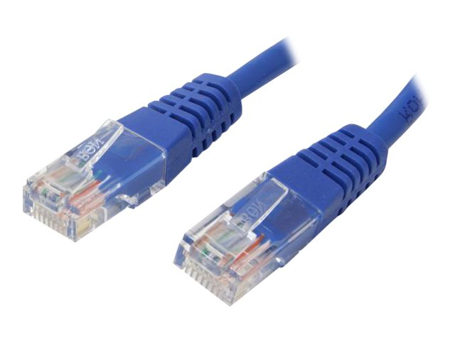 StarTech.com Cat5e Molded UTP Patch Cable, Blue, 30ft, M45PATCH30BL