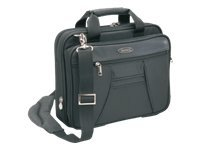 Toshiba Envoy Polyester Carrying Case, Fits 13.3, Black, PA1444U-1CS2, 9793490, Carrying Cases - Notebook