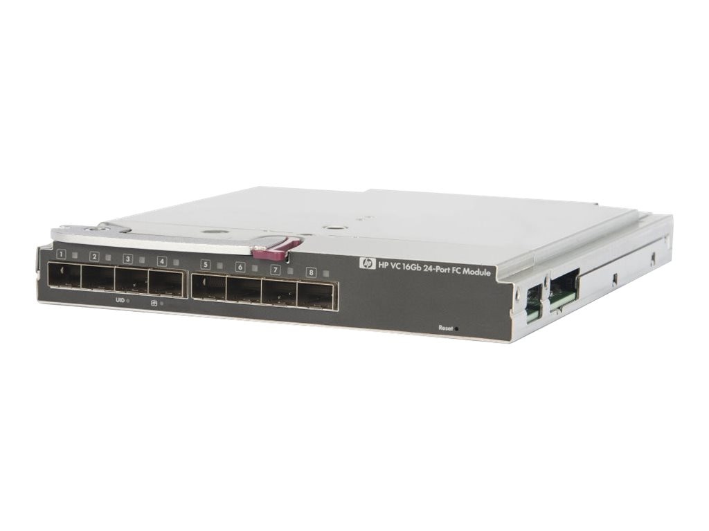 HPE Virtual Connect 16GB 24-Port Fibre Channel Module for c-Class BladeSystem, 751465-B21