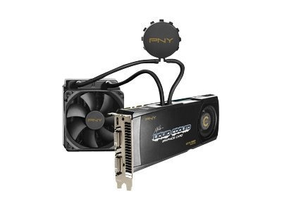 PNY GeForce GTX 580 Liquid-Cooled Graphics Card with CPU Cooling, VCGGTX580XPB-LC-CPU, 12977759, Graphics/Video Accelerators