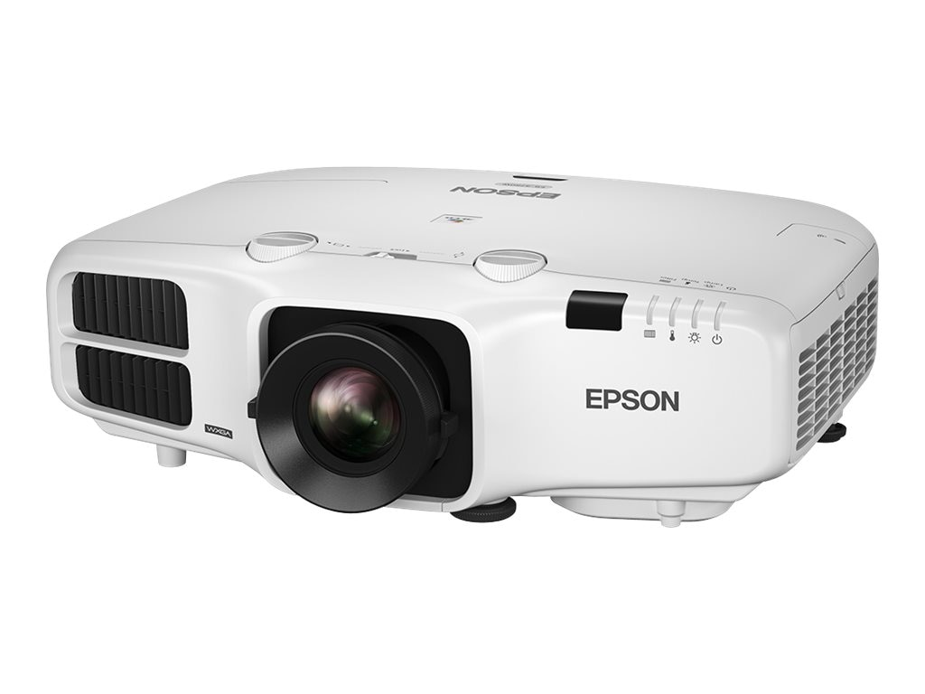 Epson PowerLite 4770W WXGA 3LCD Projector, 5000 Lumens, White, V11H748020, 20863014, Projectors