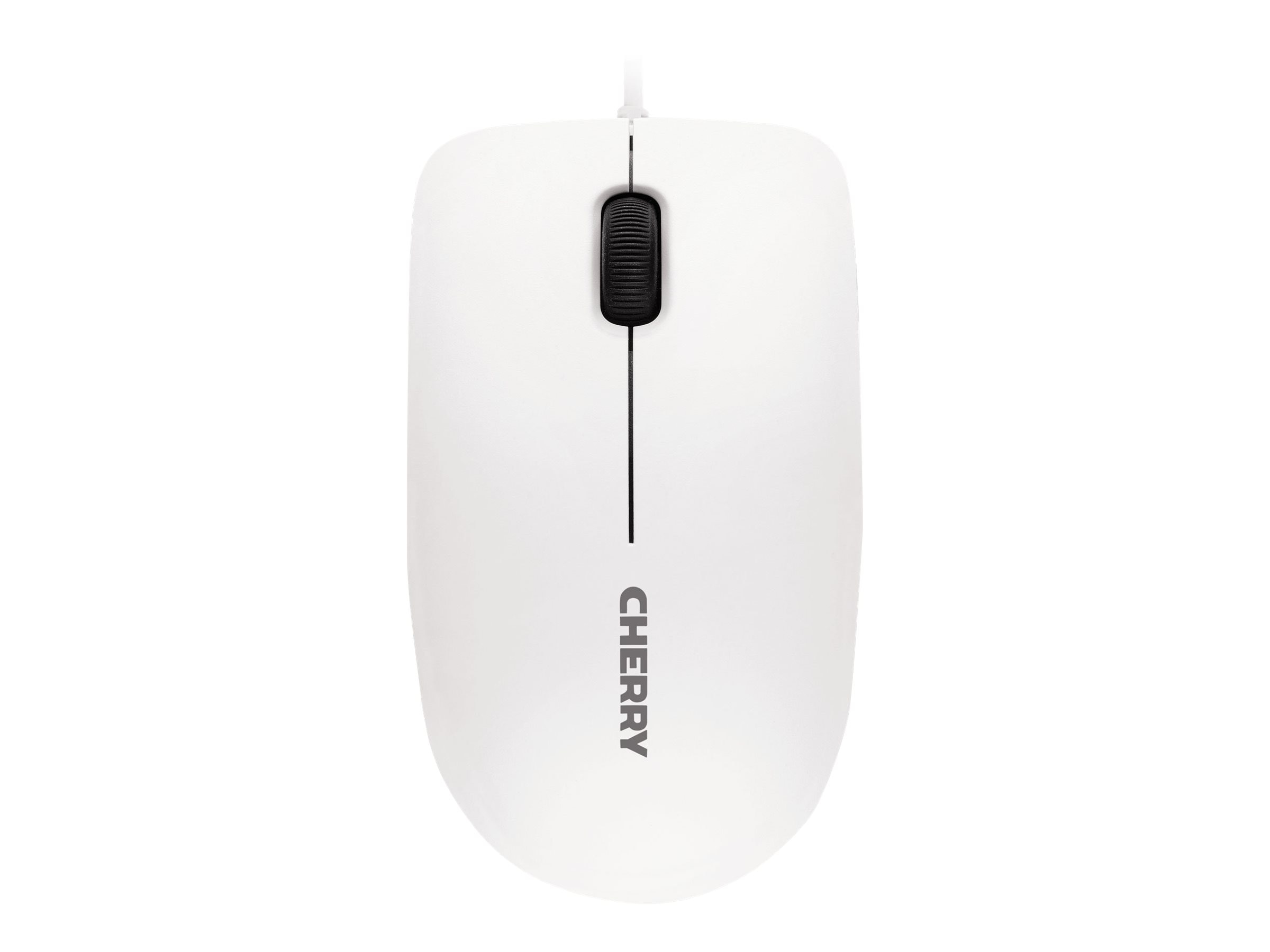 Cherry MC 1000 USB Mouse, 3-Button, 1200dpi, Pale Gray
