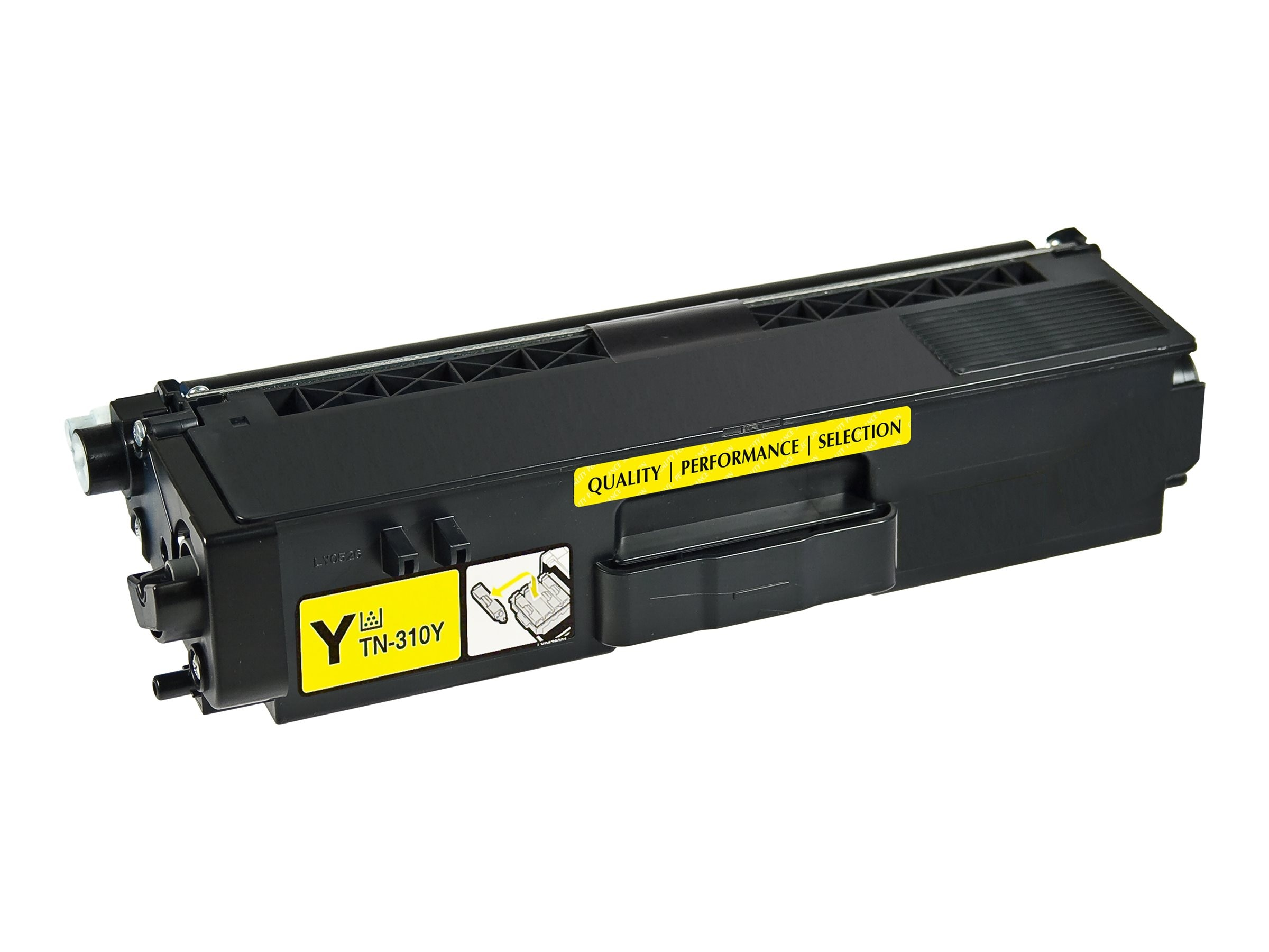 V7 TN315Y Yellow High Yield Toner Cartridge for Brother, V7TN315Y