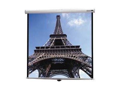 Da-Lite Deluxe Model B Projection Screen, Matte White, 1:1, 60 x 60, 40223, 6856803, Projector Screens