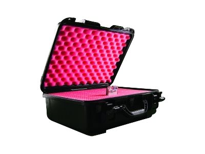 Perm-A-Store Airtight, Waterproof ATA Certified Case w  Anti-static Foam Insert, Slots for (55) 2.5 Hard Drives, 07-039007