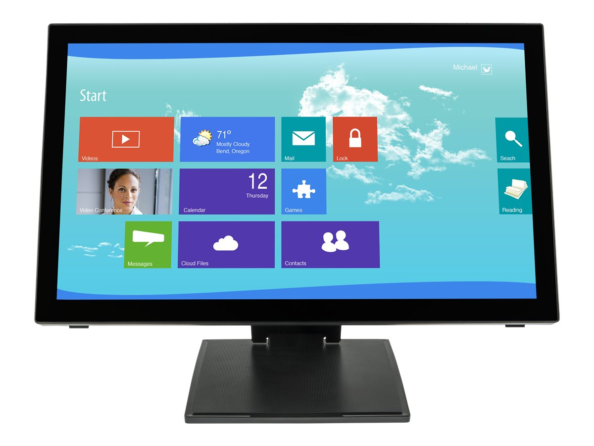 Planar 21.5 PCT2265 LED-LCD Full HD Touchscreen Monitor, Black, 997-7251-00, 16217706, Monitors - LED-LCD