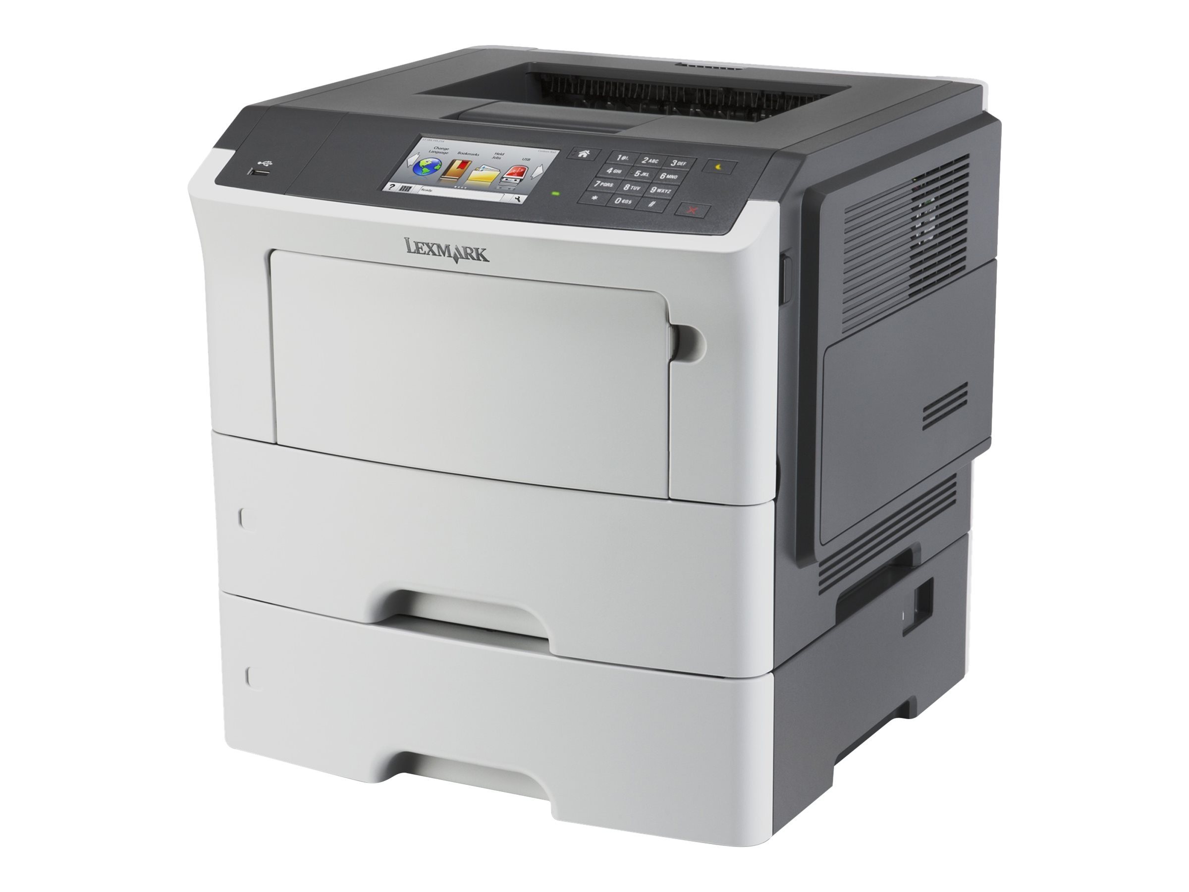 Lexmark MS610dte Monochrome Laser Printer - HV w  CAC Enablement (TAA Compliant)