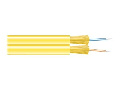 Black Box 2-Fiber 9 125 OS2 Singlemode Bulk Fiber Optic Cable, FOBC45ZPSMYL02F