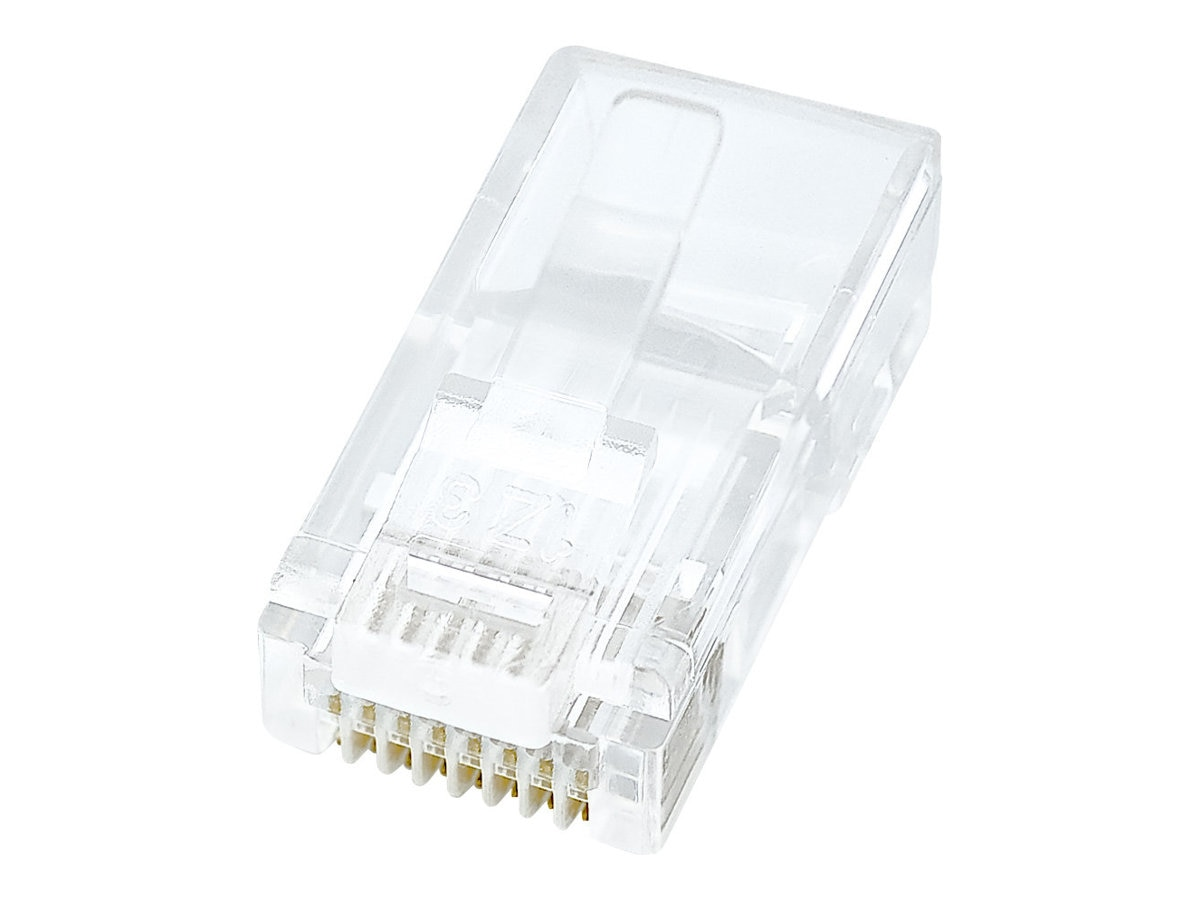 Belkin CAT 5 RJ45 Modular Plug - 50 Pack, R6G088-R-50, 131124, Premise Wiring Equipment