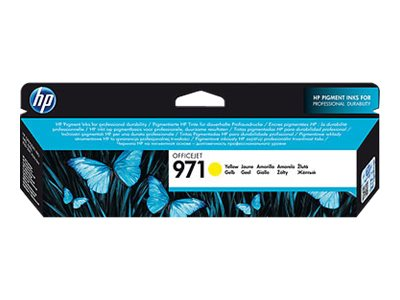 HP 971 (CN624AM) Yellow Original Ink Cartridge, CN624AM