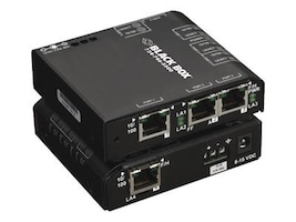 Black Box Convenient Switch Hardened, LBH101A-H, 10237941, Network Switches