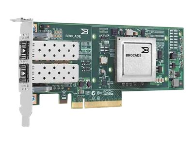 Qlogic 10 Gbps PCIe 2.0 x8 FCoE dual-port CNA, BR-1020-0010