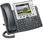 Cisco Unified IP Phone 7965G SCCP, SIP VoIP