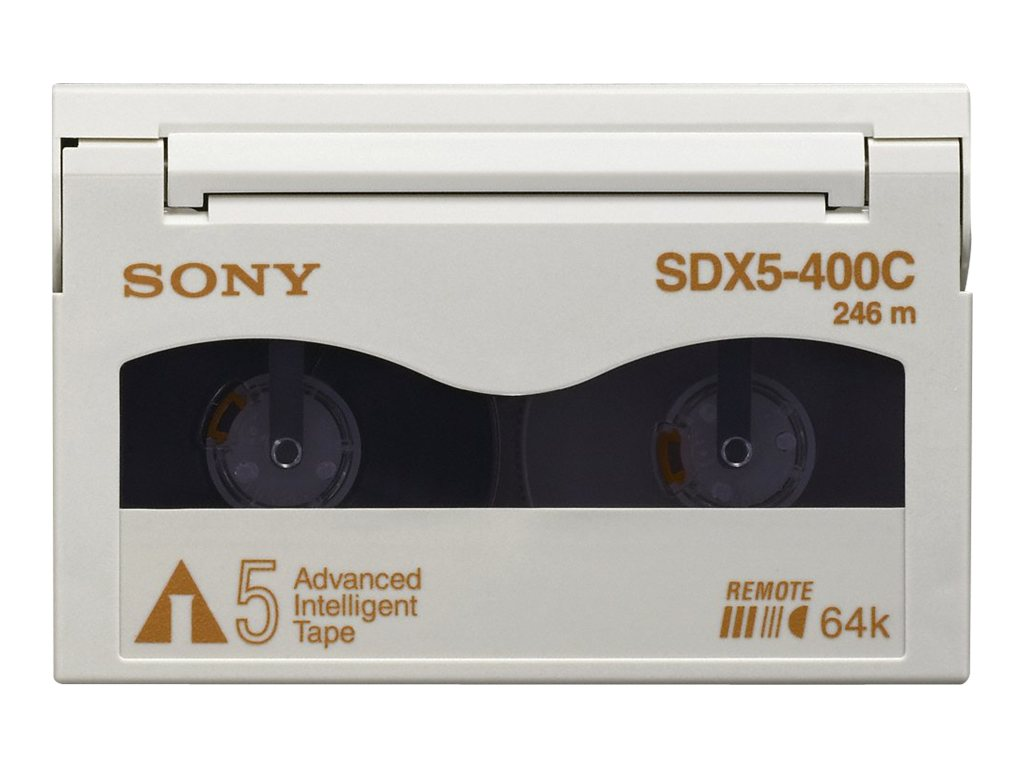 Sony 400GB 1.04TB AIT-5 8mm Tape Cartridge, SDX5400C