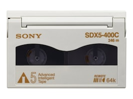 Sony 400GB 1.04TB AIT-5 8mm Tape Cartridge, SDX5400C, 7113497, Tape Drive Cartridges & Accessories