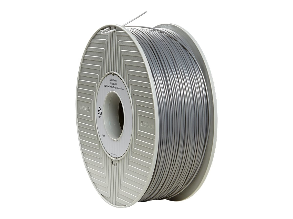 Verbatim Silver 1.75mm 1kg ABS 3D Filament