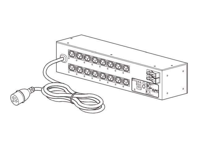 APC Rack PDU, Switched, 2U, 32A, 230V, (16) C13, AP7922B