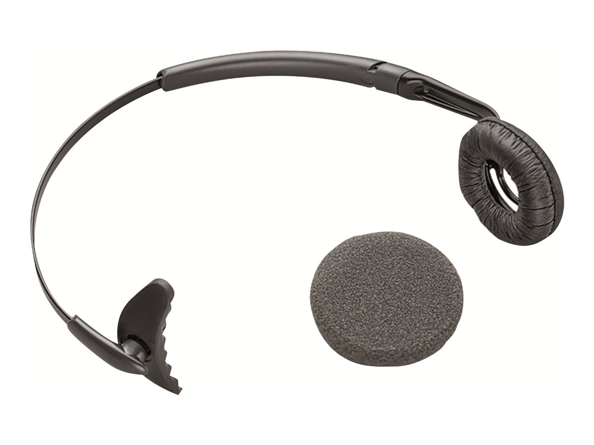 Plantronics Headband w  Ear Cushion for CS50, 66735-01, 5540444, Headsets (w/ microphone)