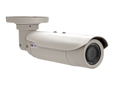 Acti 3MP Day Night Superior WDR 10x Zoom Bullet Camera, E415