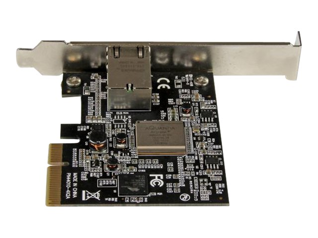 StarTech.com 1-port PCIe 10GBase-T NBase-T Ethernet Network Card, ST10GSPEXNB