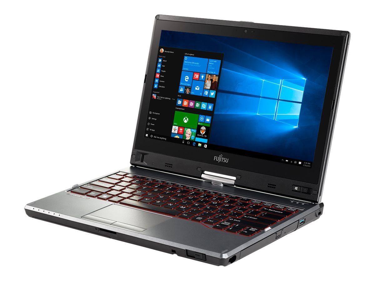 Open Box Fujitsu LifeBook T726 Core i5-6200U 2.3GHz 8GB 128GB SSD ac abgn GNIC BT WC 12.5 HD MT W10P64, SPFC-T726-003