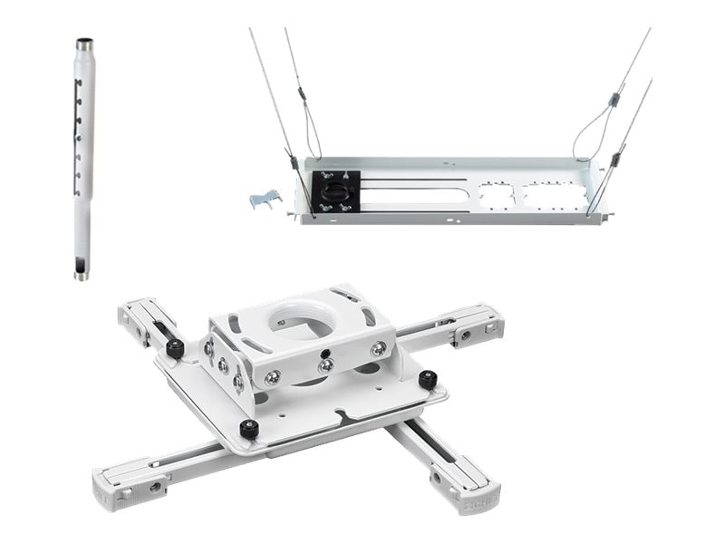 Chief Manufacturing Universal Projector Mount, Adjustable Extension Column, Tile Suspended Ceiling Kit