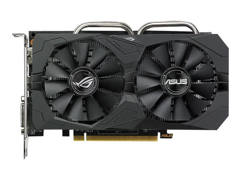 Asus AMD Radeon RX 560 Overclocked Gaming Edition Graphics Card, 4GB GDDR5, 90YV0AH0-M0NA00