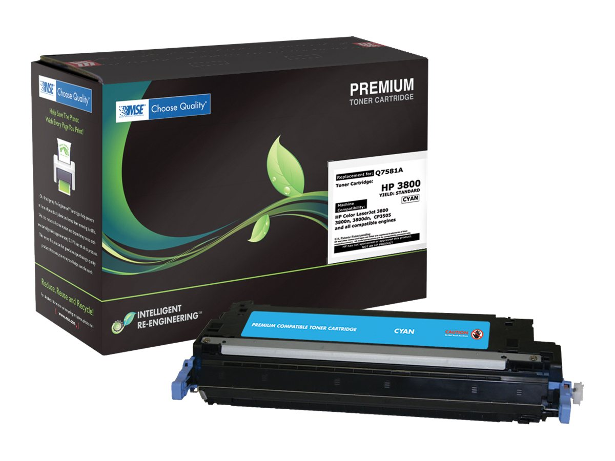 Q7581A 1659B001AA Cyan Toner Cartridge for HP 3800 Canon